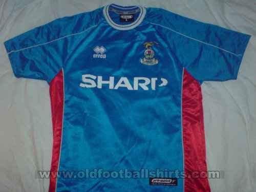 Inverness Caledonian Thistle Home voetbalshirt  2002 - 2003