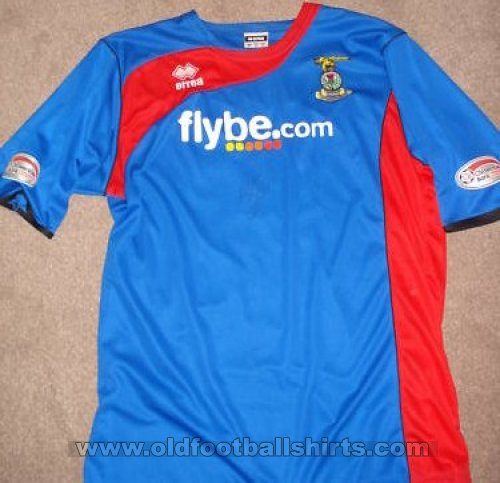 Inverness Caledonian Thistle Home voetbalshirt  2008 - 2010