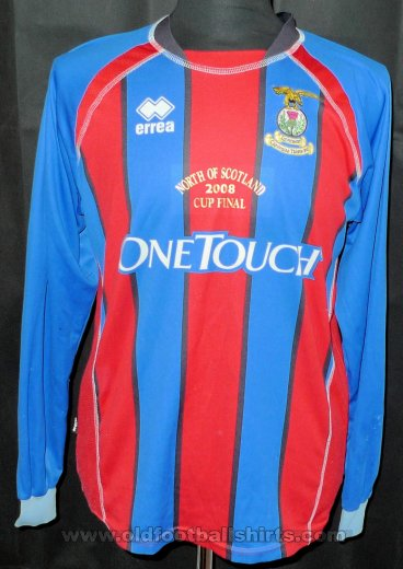 Inverness Caledonian Thistle Cup Shirt baju bolasepak 2008