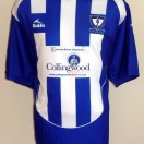 Whitley Bay FC  football shirt 2008 - 2009