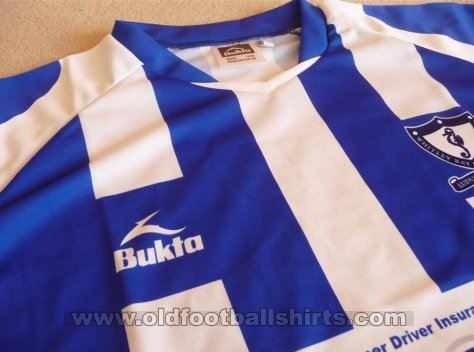 Whitley Bay FC  Home football shirt 2008 - 2009
