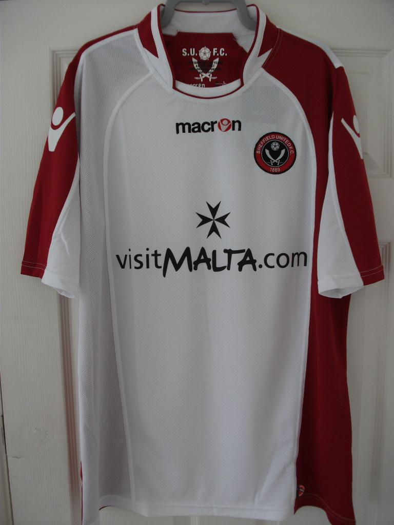 sheffield united away football shirt 2009 2010 added on