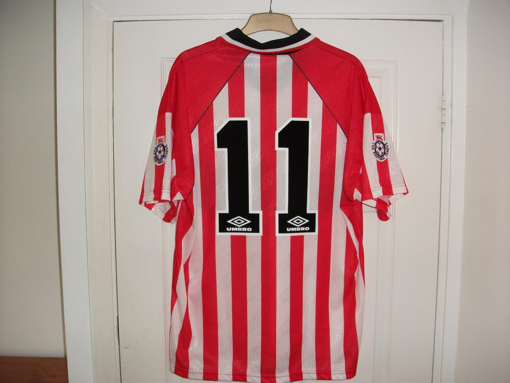 Sheffield United Home football shirt 1994 - 1995. Sponsored by Laver ccf60d577