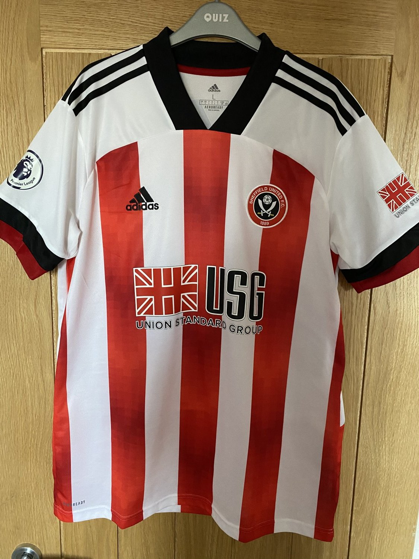 Campionato Nuovo Sheffield United Home maglia di calcio 2020 ...