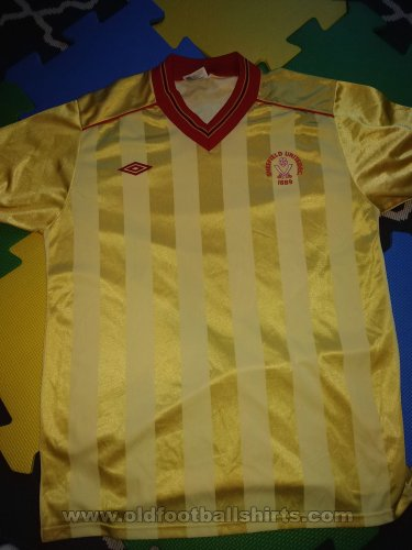 Sheffield United Away football shirt 1982 - 1986