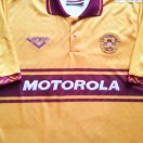 Motherwell football shirt 1994 - 1996