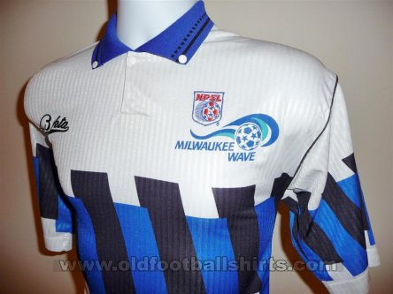 Milwaukee Wave Home Fußball-Trikots 1992 - 1993
