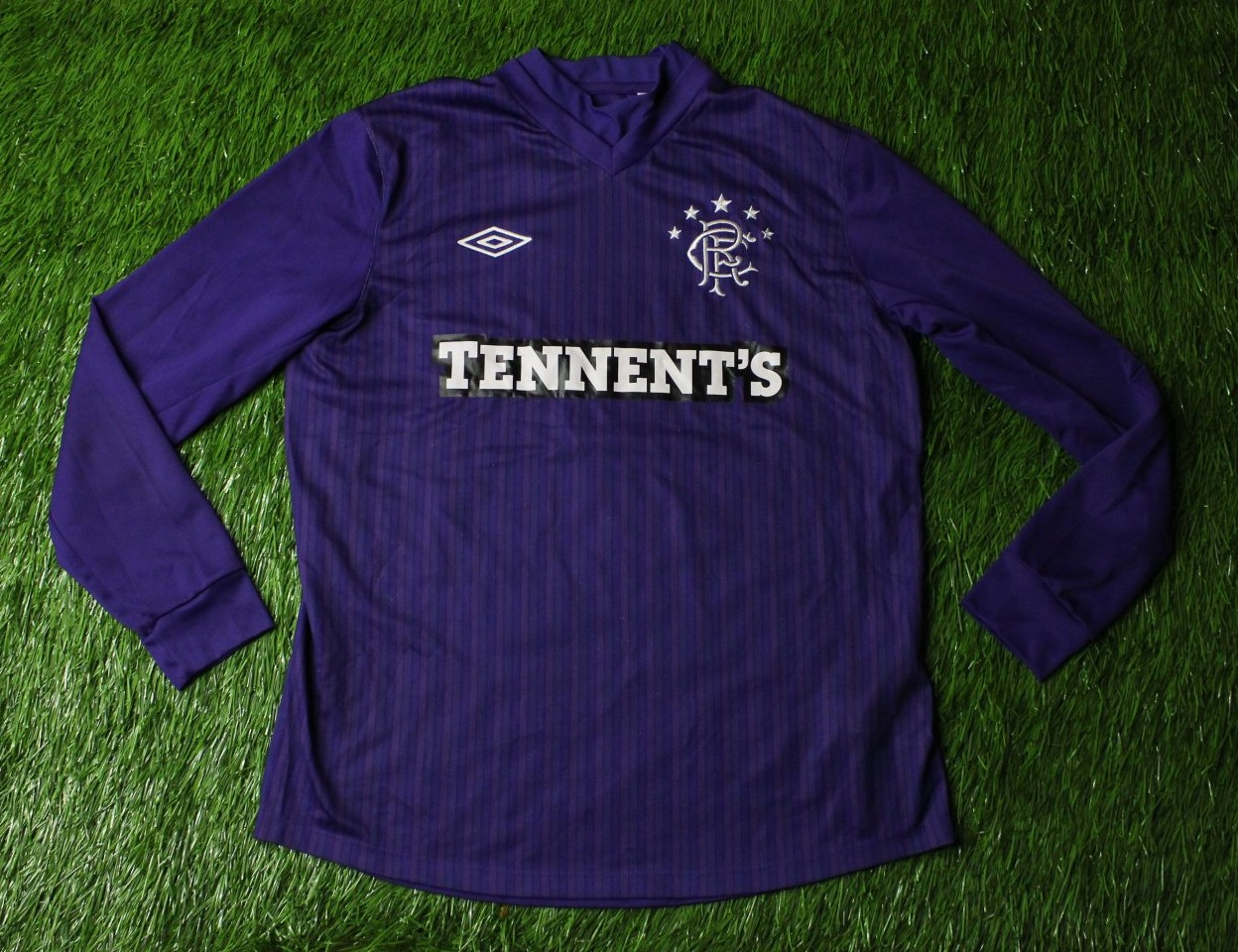 cbc6fa4e060 Rangers Goalkeeper maglia di calcio 2011 - 2012. Sponsored by Tennent's
