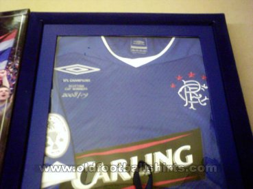 Rangers Special football shirt 2008 - 2009