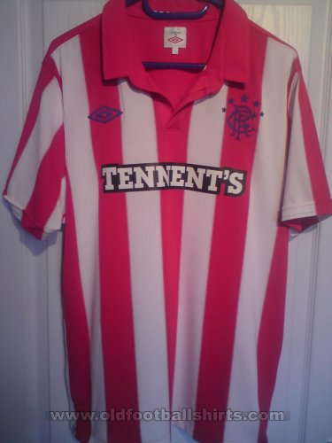 Rangers Away football shirt 2010 - 2011