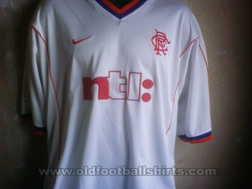 Rangers Special football shirt 2002 - 2003