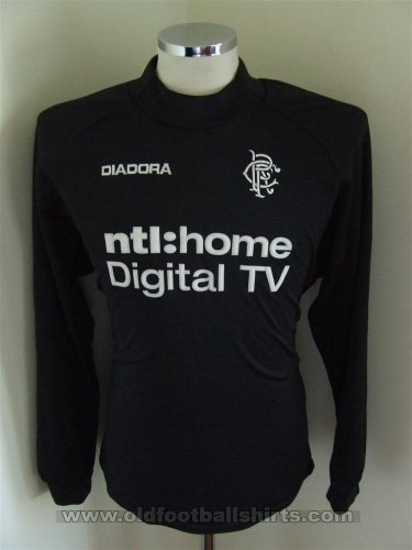 Rangers Goalkeeper football shirt 2002 - 2003