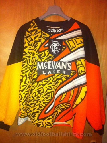 Rangers Goalkeeper football shirt 1994 - 1996