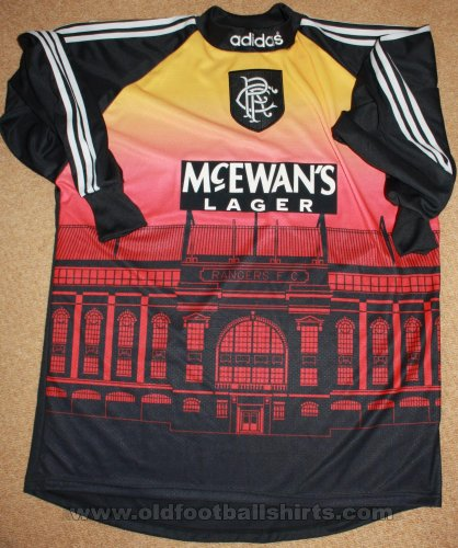 Rangers Goalkeeper football shirt 1994 - 1997