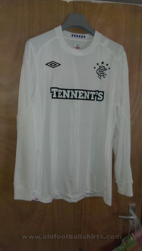 Rangers Goalkeeper football shirt 2010 - 2011