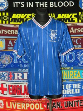 Rangers Retro Replicas football shirt 1983 - 1984