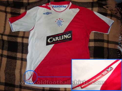 Rangers Away football shirt 2006 - 2007