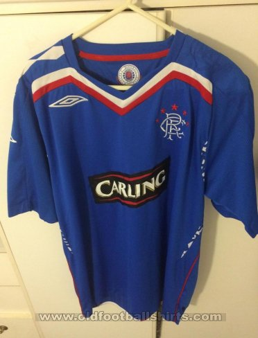 Rangers Home football shirt 2007 - 2008