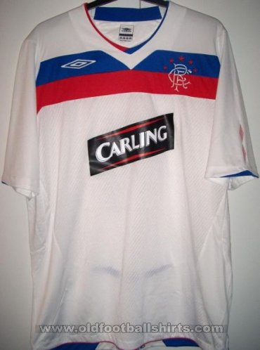 Rangers Away football shirt 2008 - 2009