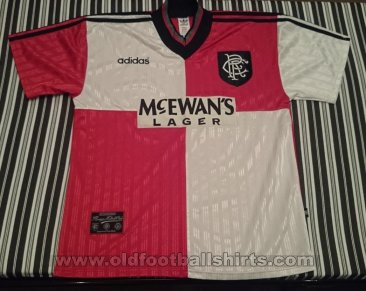 Rangers Away football shirt 1995 - 1996