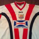 Airdrie United football shirt 1999 - 2000