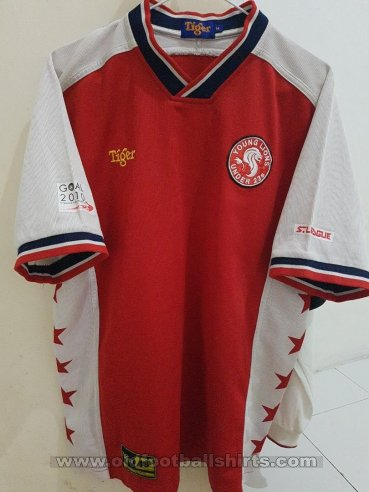 Young Lions  Home football shirt 2006