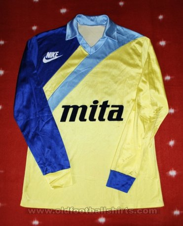 Waasland Beveren Cup Shirt football shirt 1986 - 1987