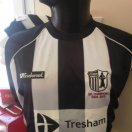 Corby Town football shirt 2009 - 2010