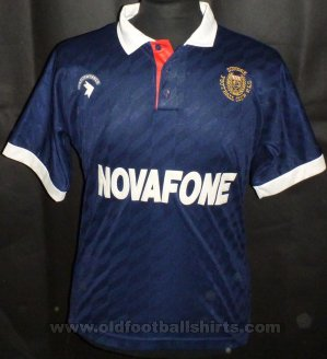 Dundee Home Fußball-Trikots 1990 - 1991