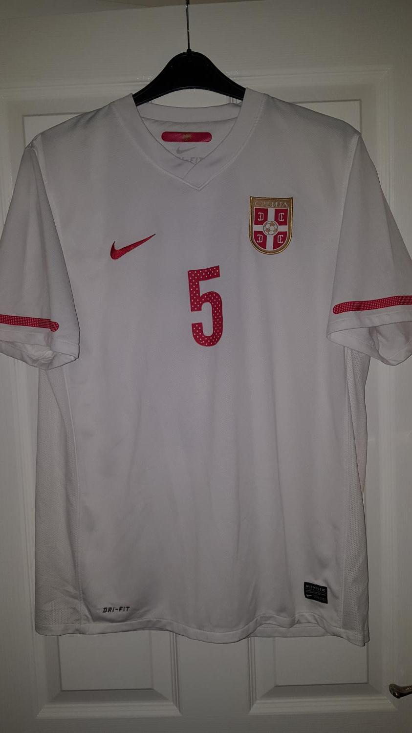 0a6444ecc Serbia Away Maillot de foot 2010 - 2011 ...