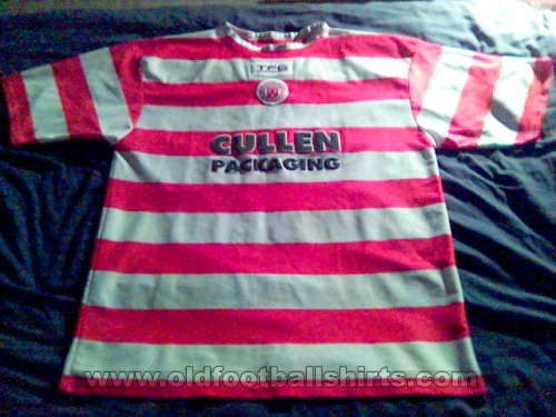 Hamilton Academical Thuis  voetbalshirt  2004 - 2005