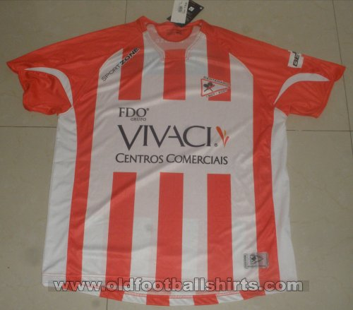 Leixoes Home football shirt 2007 - 2008