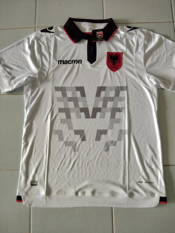Albania Maglia da trasferta maglia di calcio 2019 - 2020.