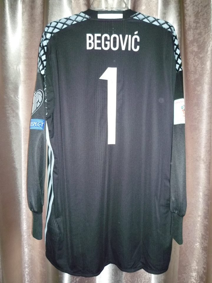 0b53c8e4b Bosnia and Herzegovina Goalkeeper football shirt 2016 - 2017.
