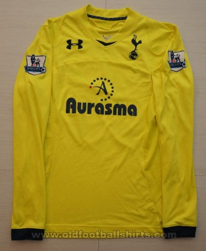 Tottenham Hotspur Goalkeeper football shirt 2012 - 2013