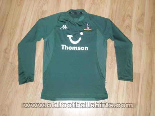 Tottenham Hotspur Goalkeeper football shirt 2003 - 2005