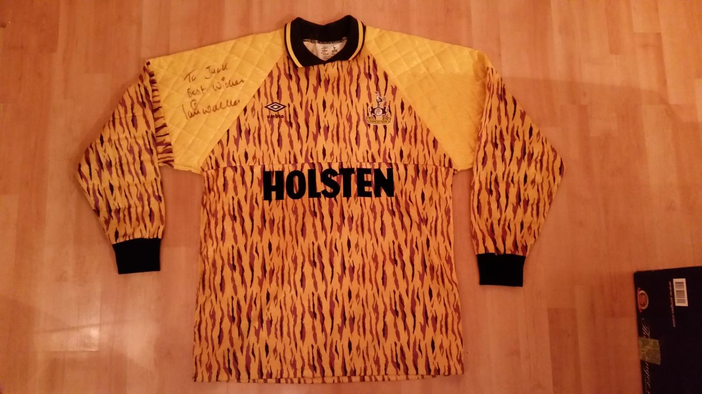 Tottenham Hotspur Goalkeeper camisa de futebol 1991 - 1993 ... 500657f36