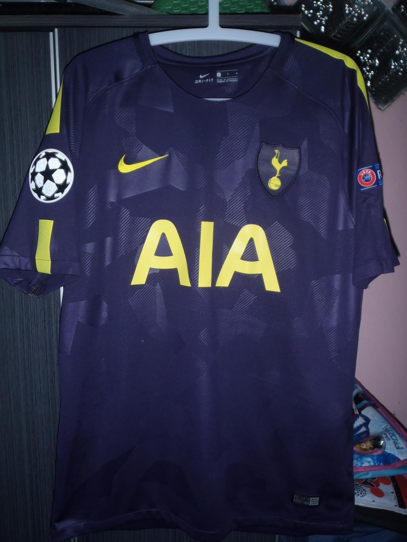 Tottenham Hotspur Il Terzo maglia di calcio 2017 - 2018. Sponsored ...