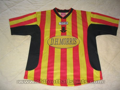 Partick Thistle Home football shirt 2002 - 2004