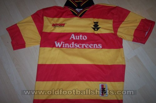 Partick Thistle Home football shirt 1997 - 1999