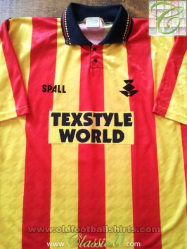Partick Thistle Home football shirt 1991 - 1993
