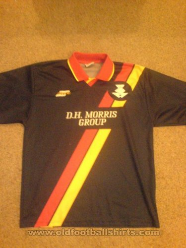 Partick Thistle Away football shirt 2000 - 2001