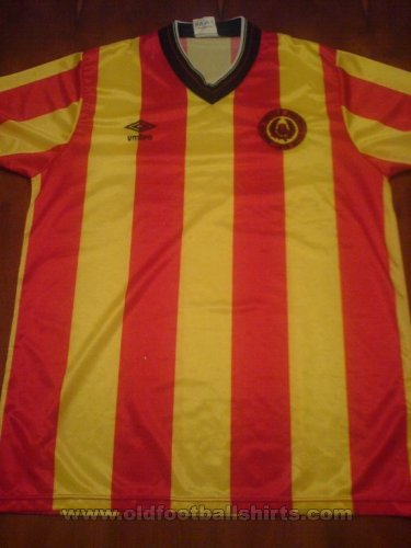 Partick Thistle Home football shirt 1983 - 1986