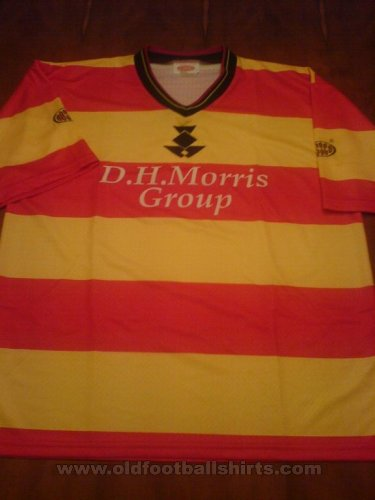 Partick Thistle Home football shirt 1999 - 2000