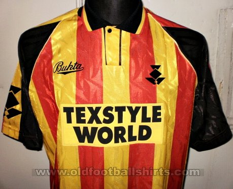 Partick Thistle Home football shirt 1993 - 1994
