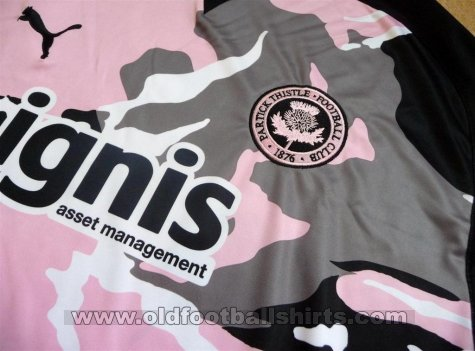 Partick Thistle Away football shirt 2009 - 2011