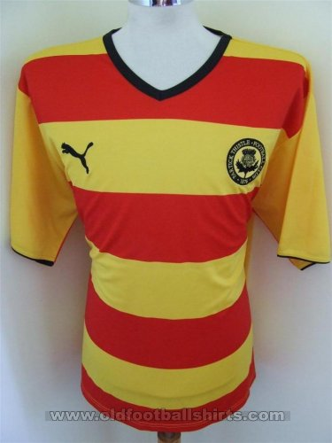 Partick Thistle Home football shirt 2008 - 2010