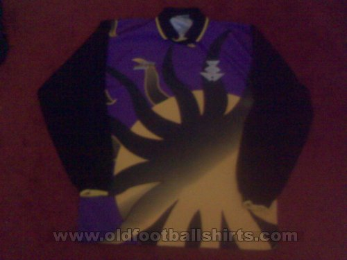 Partick Thistle Goalkeeper football shirt 2000 - 2001