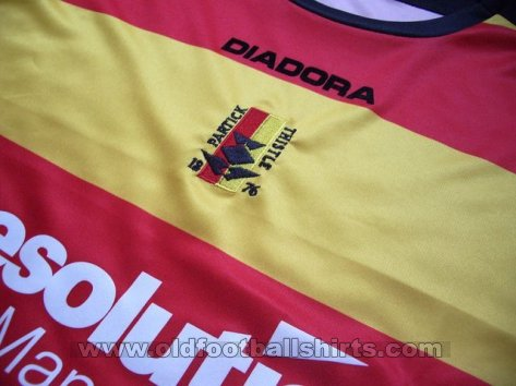 Partick Thistle Home football shirt 2007 - 2008
