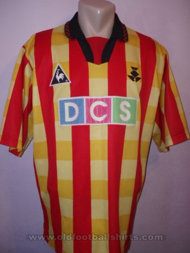 Partick Thistle Home football shirt 1996 - 1997